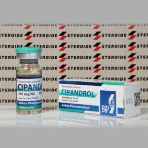 Verpackung Cipandrol (Testosteron C) 200 mg Balkan Pharmaceuticals
