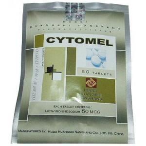 Cytomel 50 mg Hubei Huangshi Nanshang (Tabletten)