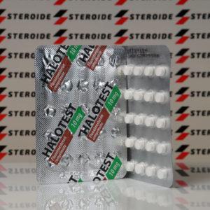 Verpackung Halotest Balkan Pharmaceuticals 10 mg (Tabletten)