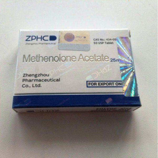Methenolone Acetate (Primobolan) 25 mg Zhengzhou (Tabletten)