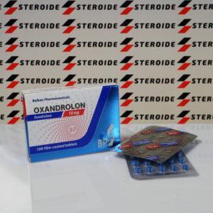 Verpackung Oxandrolon Balkan Pharmaceuticals 10 mg (Tabletten)