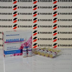 Verpackung Parabolan 100 mg Balkan Pharmaceuticals