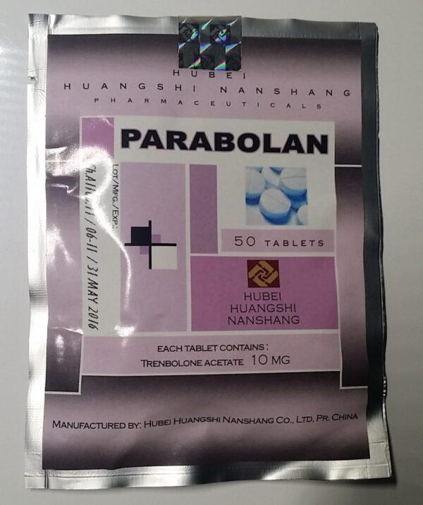 Parabolan (Trenbolone acetate) 50 mg Hubei Huangshi Nanshang (Tabletten)