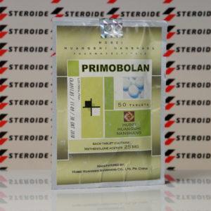 Verpackung Primobolan (Methenolone Acetate) 25 mg Hubei Huangshi Nanshang (Tabletten)