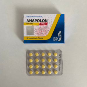 Anapolon (Oxymetholone) Balkan Pharmaceuticals 50 mg (Tabletten)