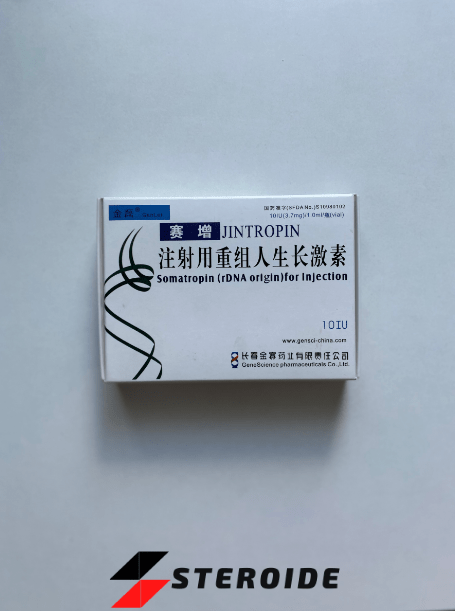 Jintropin (Somatropin) 10 IU Gene Science Pharmaceuticals (Fläschchen)