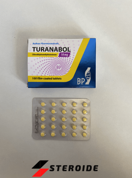 Turanabol Balkan Pharmaceuticals 10 mg (Tabletten)