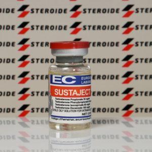 Verpackung Sustaject (Testosterone Mix - Sustanon) Eurochem Labs 250 mg (Fläschchen)