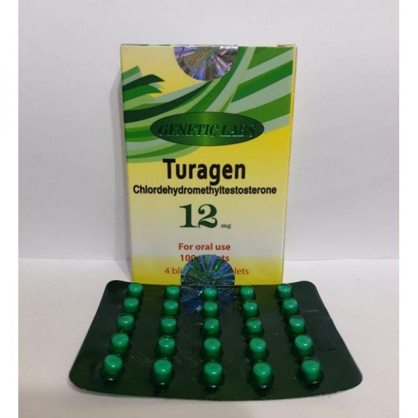 Turagen 12 mg Genetic Labs (Tabletten)