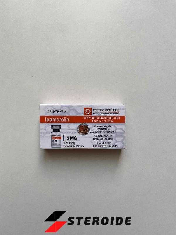 Ipamorelin 5 mg Peptide Sciences (Fläschchen)