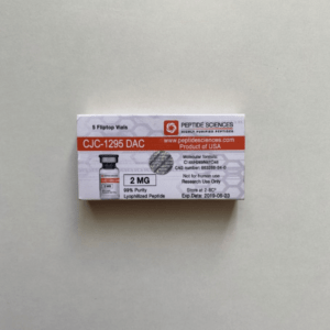 CJC 1295 DAC 2 mg Peptide Sciences (Fläschchen)