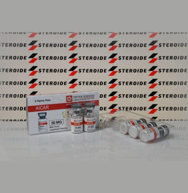 Verpackung AICAR 50 mg Peptide Sciences (Fläschchen)