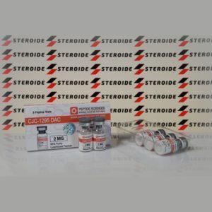 Verpackung CJC 1295 DAC 2 mg Peptide Sciences (Fläschchen)