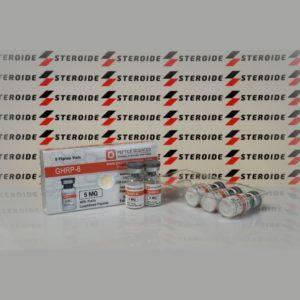 Verpackung GHRP 6 5 mg Peptide Sciences (Fläschchen)