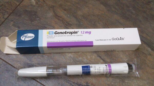 Genotropin 36 IU Pfizer Labs (Patrone)