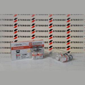 Verpackung Gonadorelin 10 mg Peptide Sciences (Fläschchen)
