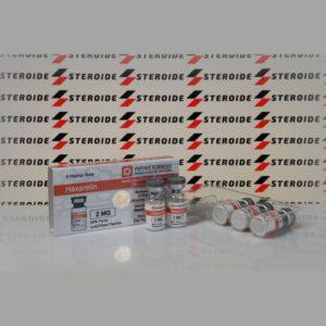 Verpackung Hexarelin 2 mg Peptide Sciences (Fläschchen)