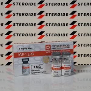Verpackung IGF1 LR3 1 mg Peptide Sciences (Fläschchen)