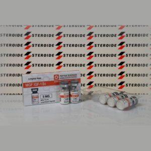 Verpackung MGF IGF-1Ec 5 mg Peptide Sciences (Fläschchen)