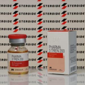 Verpackung Pharma 3 Tren 200 mg Pharmacom Labs (Fläschchen)