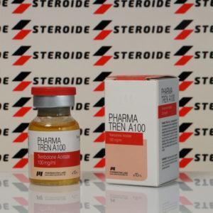Verpackung Pharma TREN А 100 mg Pharmacom Labs (Fläschchen)