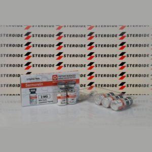 Verpackung Sermorelin 2 mg Peptide Sciences (Fläschchen)