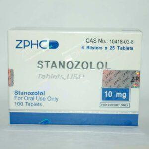 Stanozolol 10 mg Zhengzhou (Tabletten)