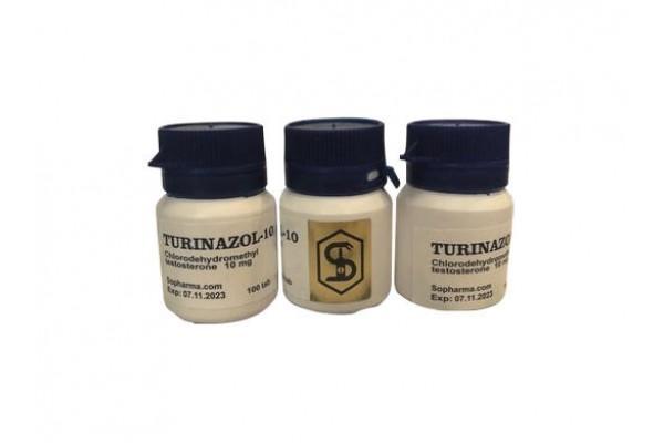 Turinazol 10 mg Sopharma (Tabletten)
