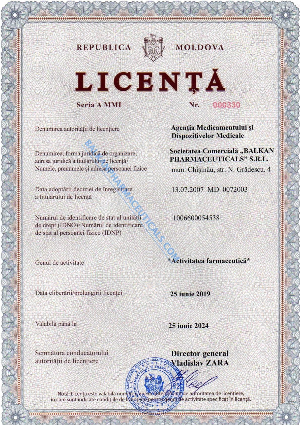 Lizenzen und Zertifikate