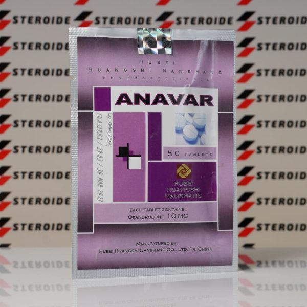 Anavar (Oxandrolone) 10 mg Hubei Huangshi Nanshang (Tabletten)