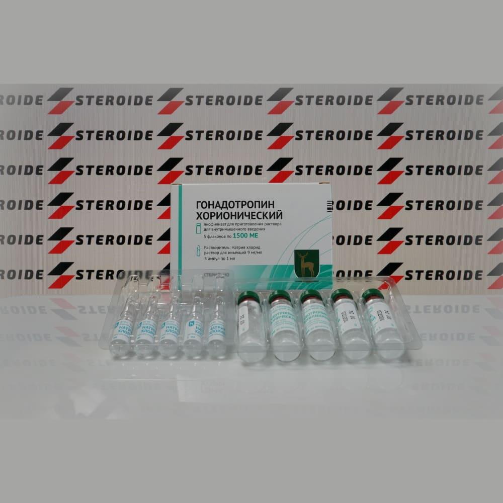 Verpackung Choriongonadotropin 1500 ME FGYP Moskauer endokrine Pflanze (Fläschchen)