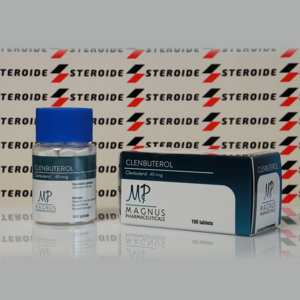 Verpackung Clenbuterol 40 mcg Magnus Pharmaceuticals (Tabletten)