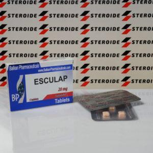 Verpackung Esculap 20 mg Balkan Pharmaceuticals (Tabletten)