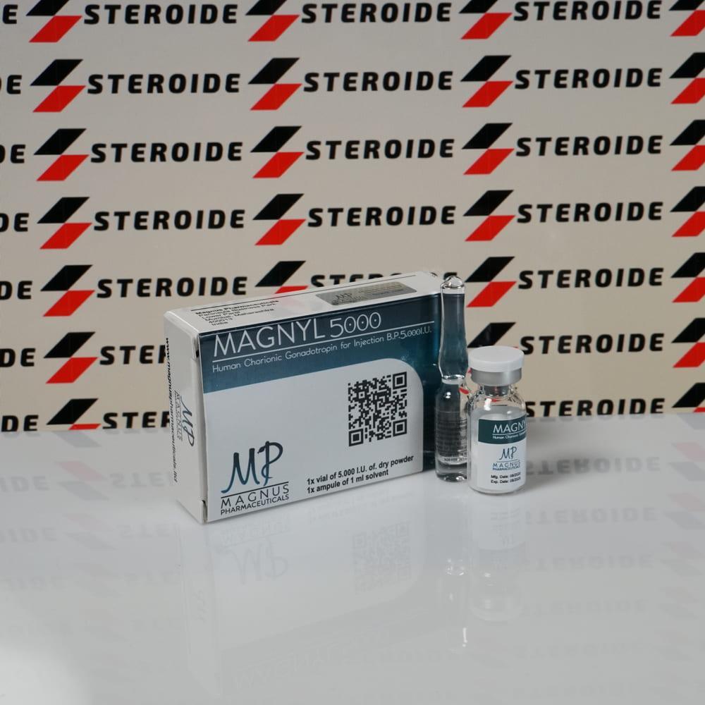 Verpackung Magnyl Magnus 5000 IU Pharmaceuticals