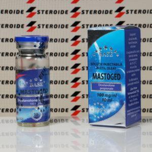 Verpackung Mastaged 100 mg Euro Prime Farmaceuticals (Fläschchen)