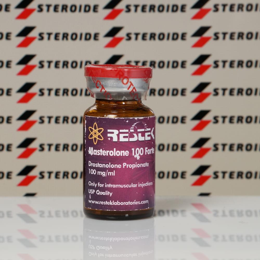 Verpackung Masterolone Forte 100 mg Restek Laboratories (Fläschchen)
