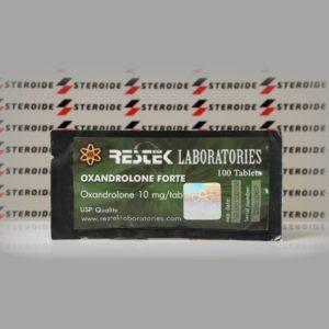Verpackung Oxandrolone Forte 10 mg Restek Laboratories (Paket)