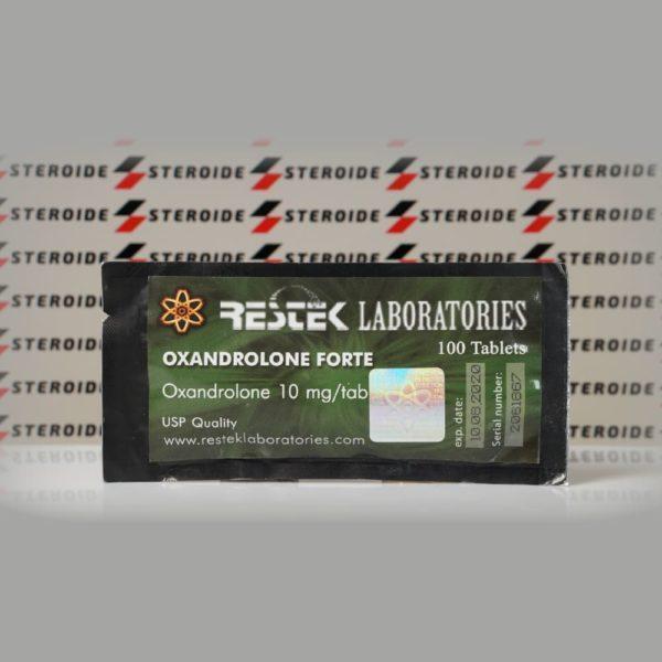 Oxandrolone Forte 10 mg Restek Laboratories (Paket)