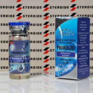 Verpackung Primoged 100 mg Euro Prime Farmaceuticals (Fläschchen)