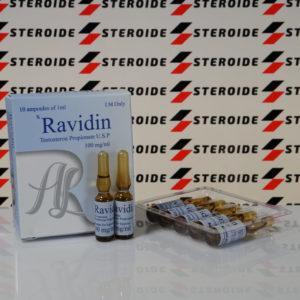 Verpackung Ravidin (Testosterone Propionate U.S.P.) 100 mg AdamLabs (Ampulle)