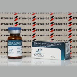 Verpackung Trenbolone Enanthate 200 mg Magnus Pharmaceuticals (Fläschchen)