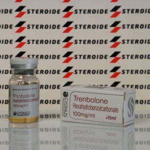 Verpackung Trenbolone Hexahydrobenzylcarbonate 100 mg Cygnus (Fläschchen)