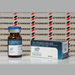 Verpackung Tri-Trenbolone 200 mg Magnus Pharmaceuticals (Fläschchen)