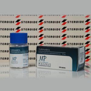 Verpackung Turinabol 10 mg Magnus Pharmaceuticals (Tabletten)